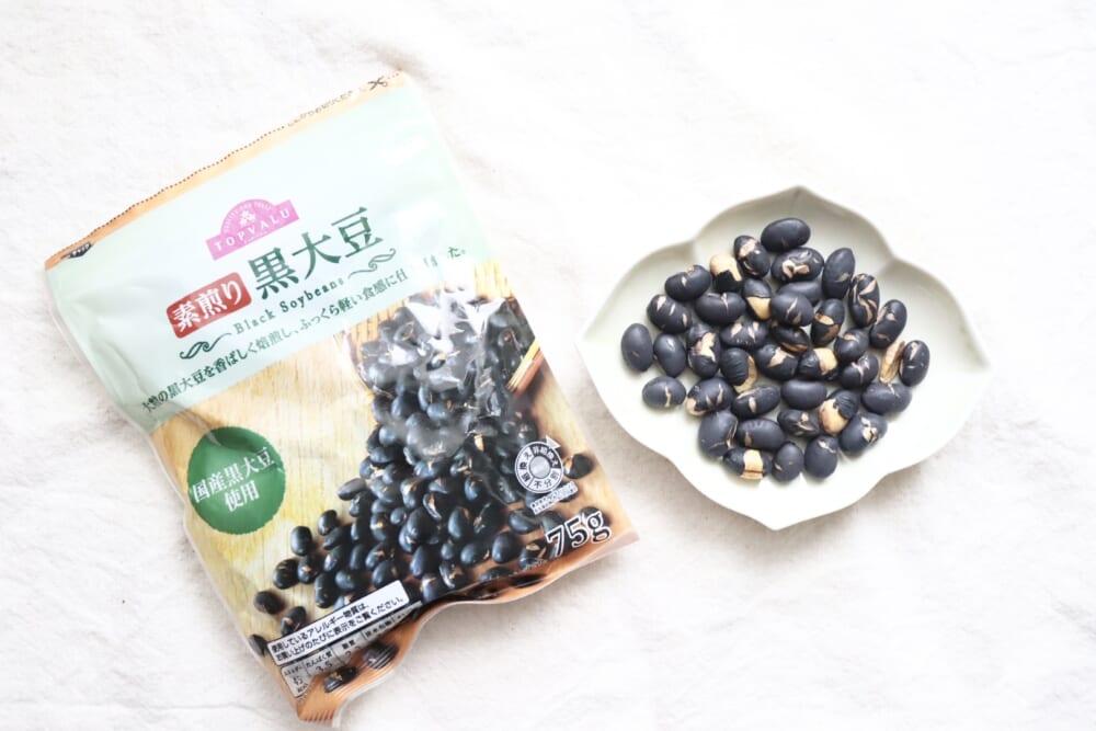 素煎り 黒大豆/トップバリュ