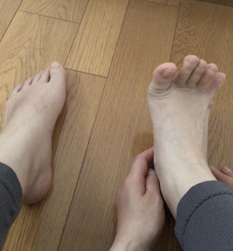 STEP3:指を開く縮めるを繰り返す