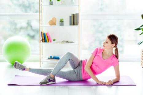ゆるんだ下半身を鍛える!骨盤底筋群も強化できる内ももエクサ