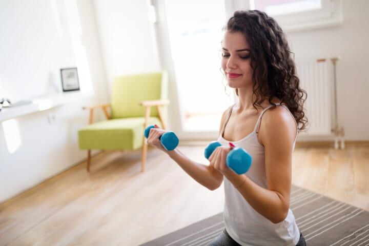 若い時より筋肉量をちょっと増やす