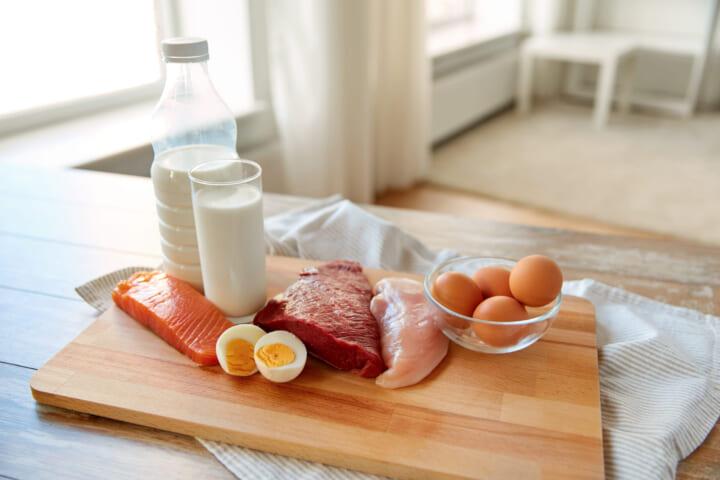高タンパク質を心がける