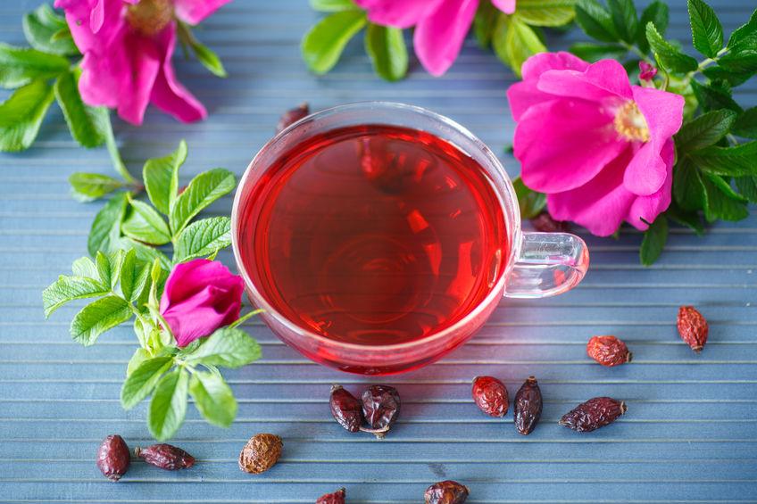お茶でビタミンC補給