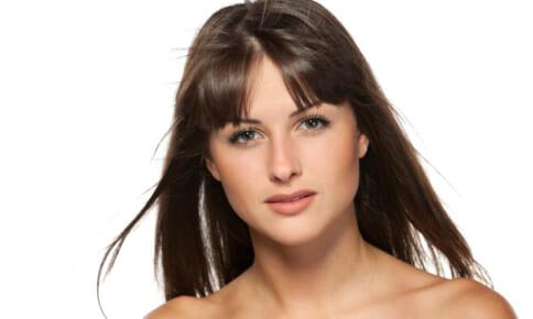 ぱっくり前髪で白髪が目立つ?若見え前髪に仕上がる乾かし方