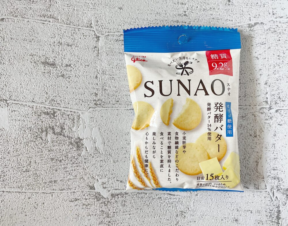 SUNAO<発酵バター>小袋/江崎グリコ