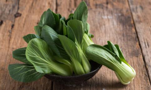 チンゲン菜でシミ対策!?美肌効果UPの簡単レシピ