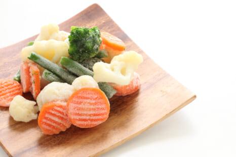 手間なし&栄養価も◎ 40代の美容に役立つ冷凍野菜