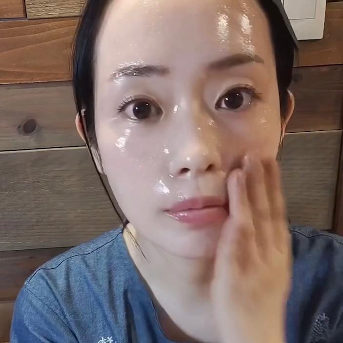 ベビーオイル洗顔2