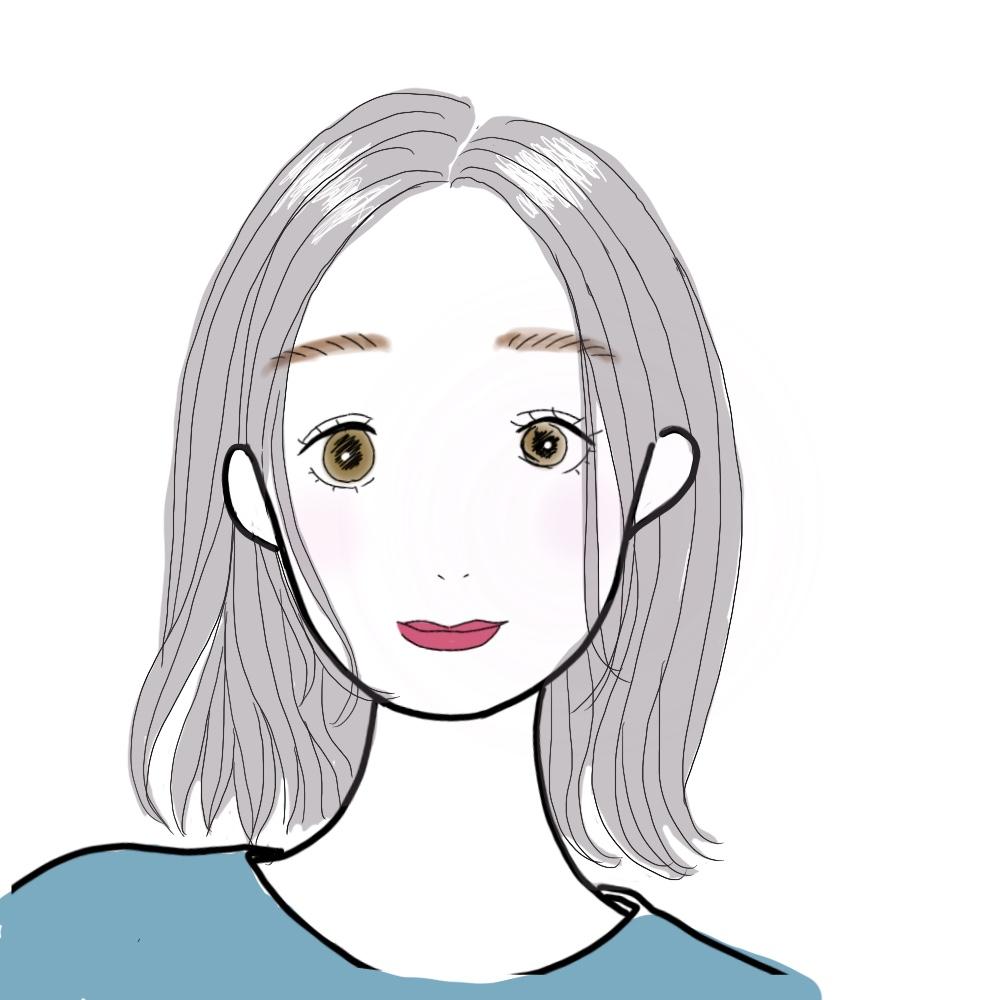 シンプルな一つ結びにした時も顔周りにだけ後れ毛を出せば、スタイリッシュな印象になります。
