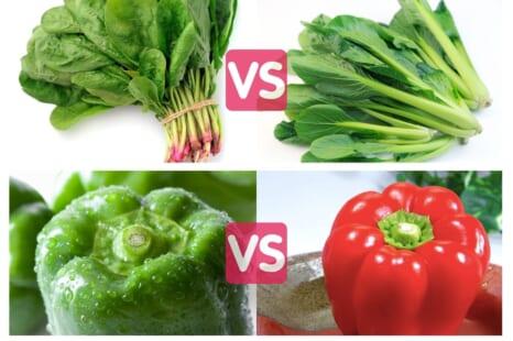 若返り効果が高い!買うならどっち?40・50代が食べるべき野菜