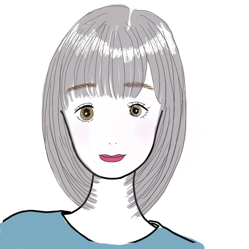 毛先を軽くしたシャギーヘアなので、ストレートにしても重たい印象になりすぎないのが特徴です