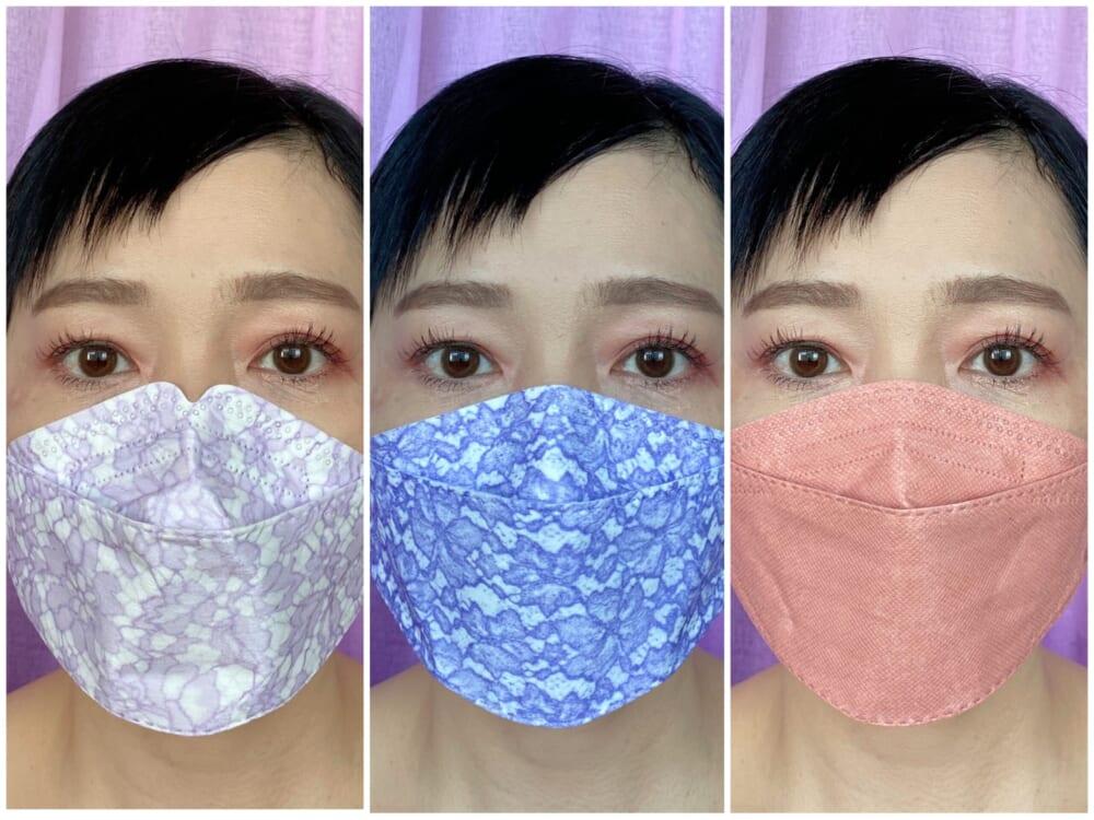 カメラ映りにも差が出る!マスクの色選び