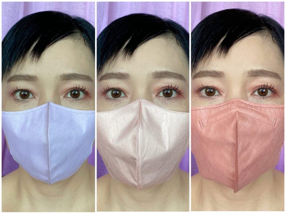 小顔マスクの代表ともいえる「立体3Dタイプ」のように、フェイスラインをスッキリさせることで若々しい印象を演出します